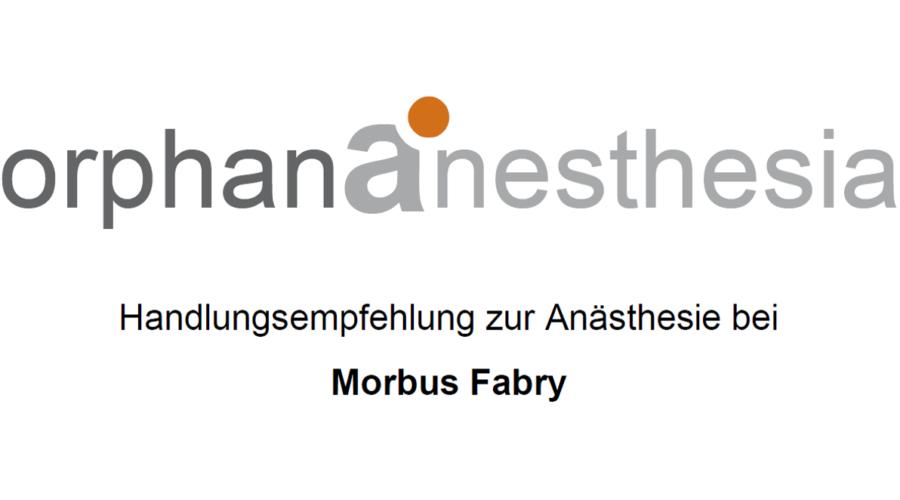 Anästhesie bei Morbus Fabry